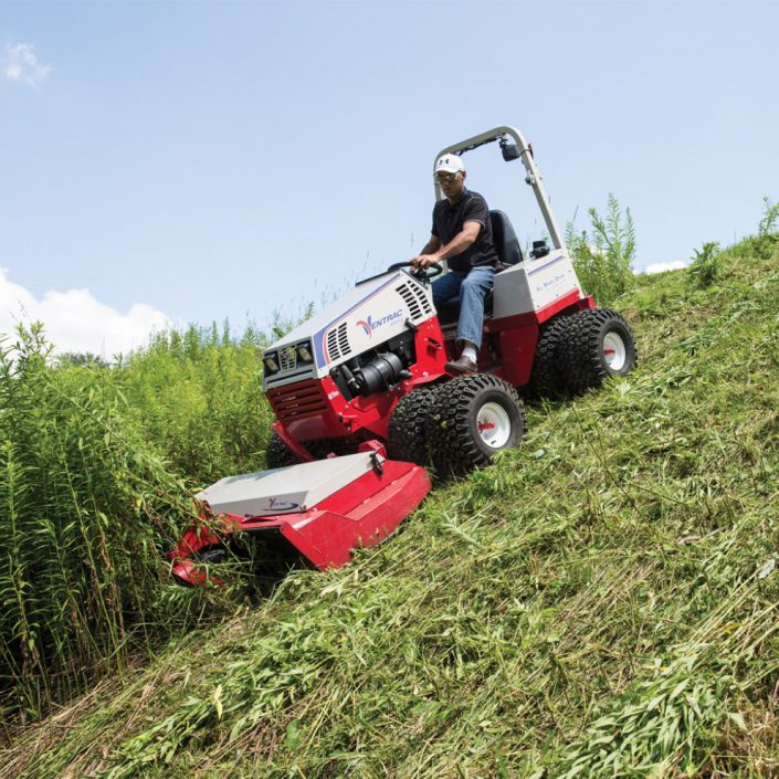 ventrac-downhill-mowing