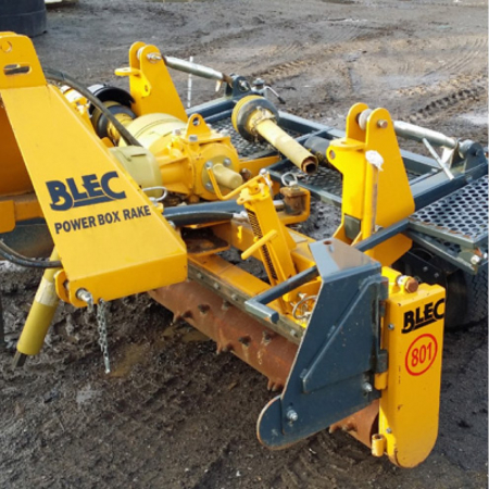 Used Blec Power Rake