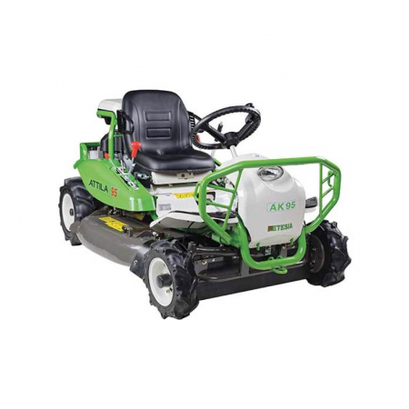Used Etesia AK95 Ride-on Brushcutter