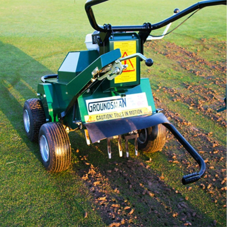Used Groundsman Industries 345HD Aerator