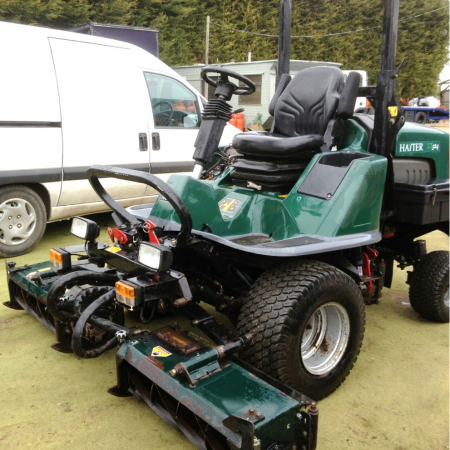 Used Hayter Toro L Series Triple Mowers