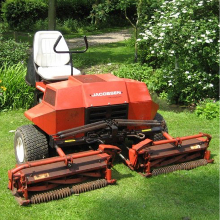 Used Jacobsen 1671D Triking Triple Mower