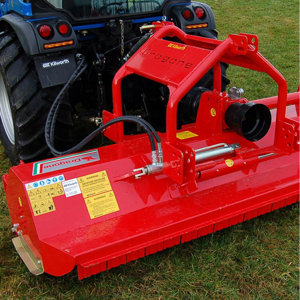 Used Kilworth Dragone Flail Mower
