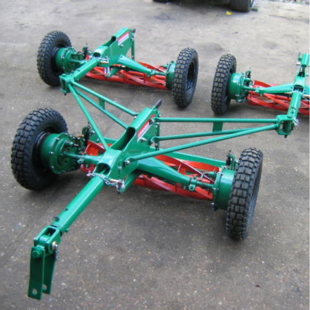 Used Ransomes and Lloyds Gang Mowers