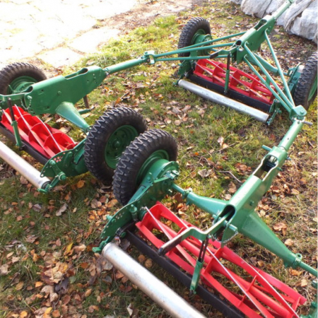 Used Ransomes Sportcutter Gang Mowers
