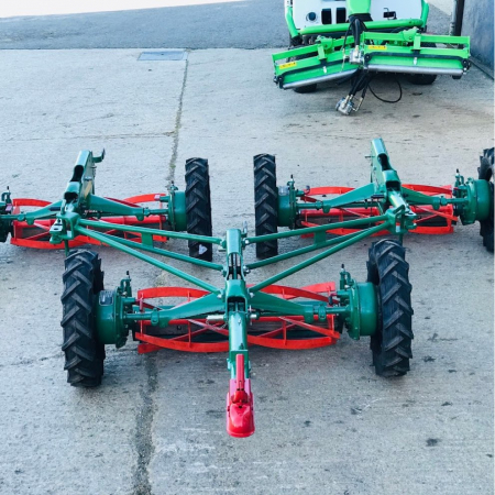 Used Ransomes Sportcutter Magna Gang Mower