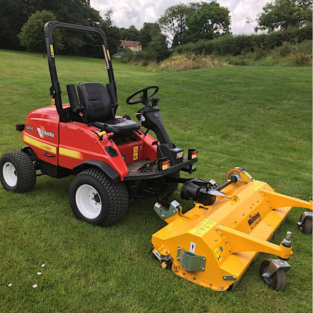 Used Shibaura CM374 Out Front Flail Mower