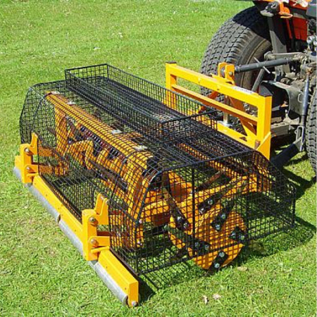 Used Sisis Tractor Mounted Slitter
