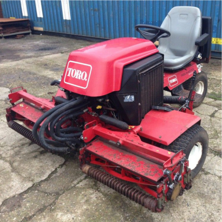 Used Toro Jacobsen Triple Mower