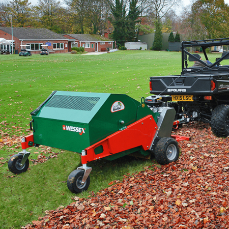 Used Wessex MTX120E Paddock Sweeper