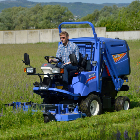 Iseki SF235 Out-Front Rotary Mower-Collector