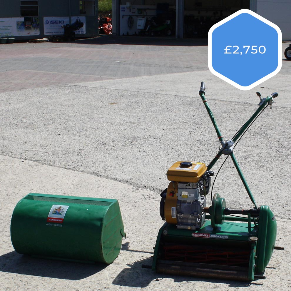 Ransomes Auto Sports Mower Special Offer