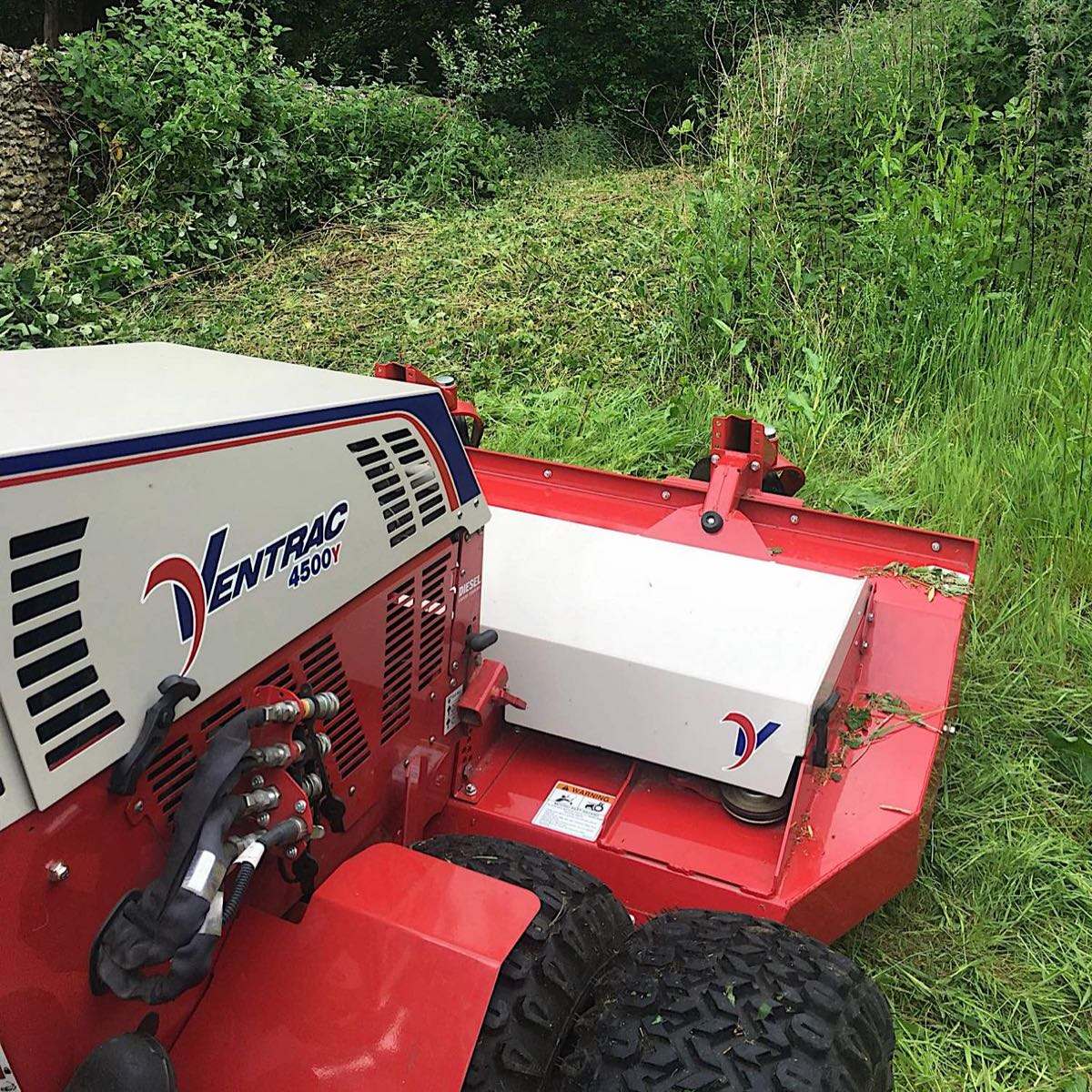 Ventrac Equipment at RT Machinery Ltd in Aylesbury, United