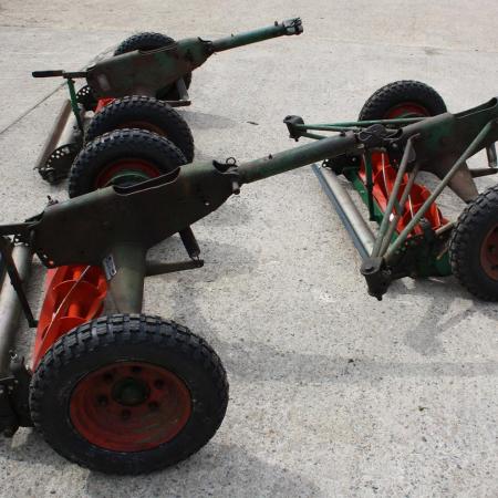 RANSOMES MK10 GANG MOWERS.
