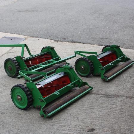 Used Dennis cylinder mowers