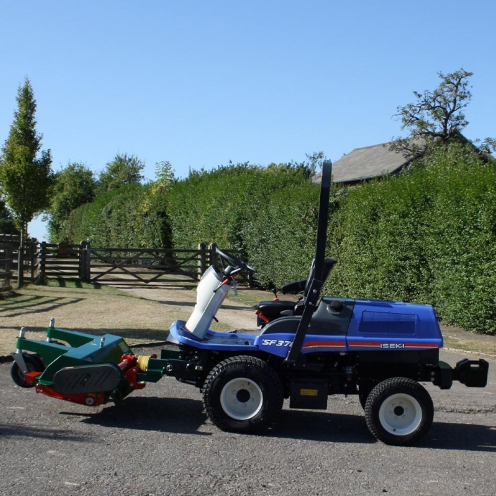 Iseki SF370 Out Front Tractor Mower