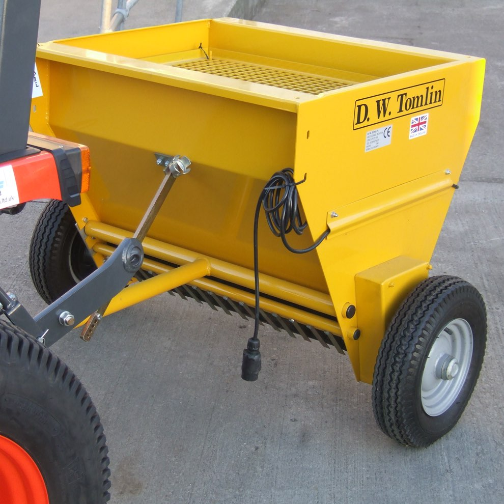 D.W. Tomlin T80 Towed Salt Spreader