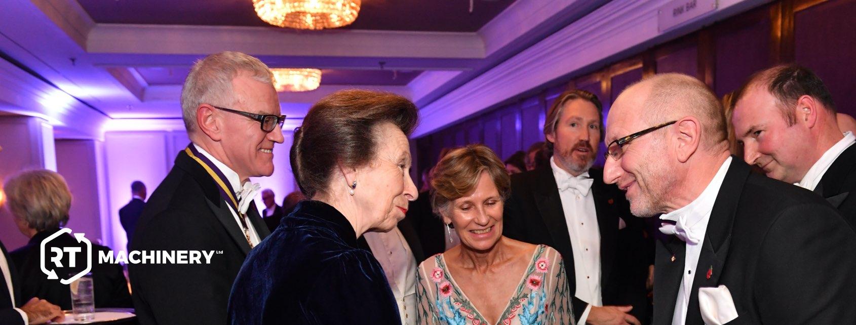 Richard Taylor meets Princess Anne