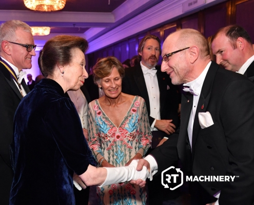 Richard Taylor meets Princess Anne