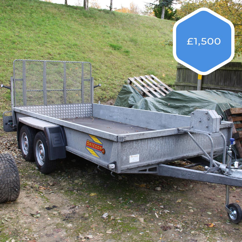 Bateson Trailer | Special Offer | £1500 +VAT