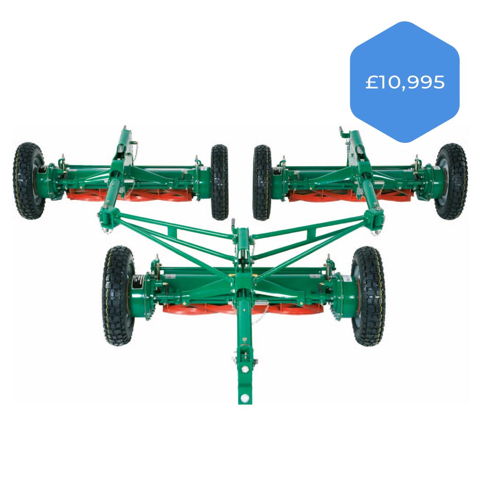 Ransomes Sportcutter Gang Mowers