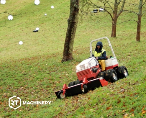 Ventrac at Waddesdon Manor