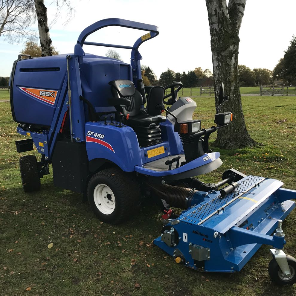Iseki SF450 with Muthing Flail