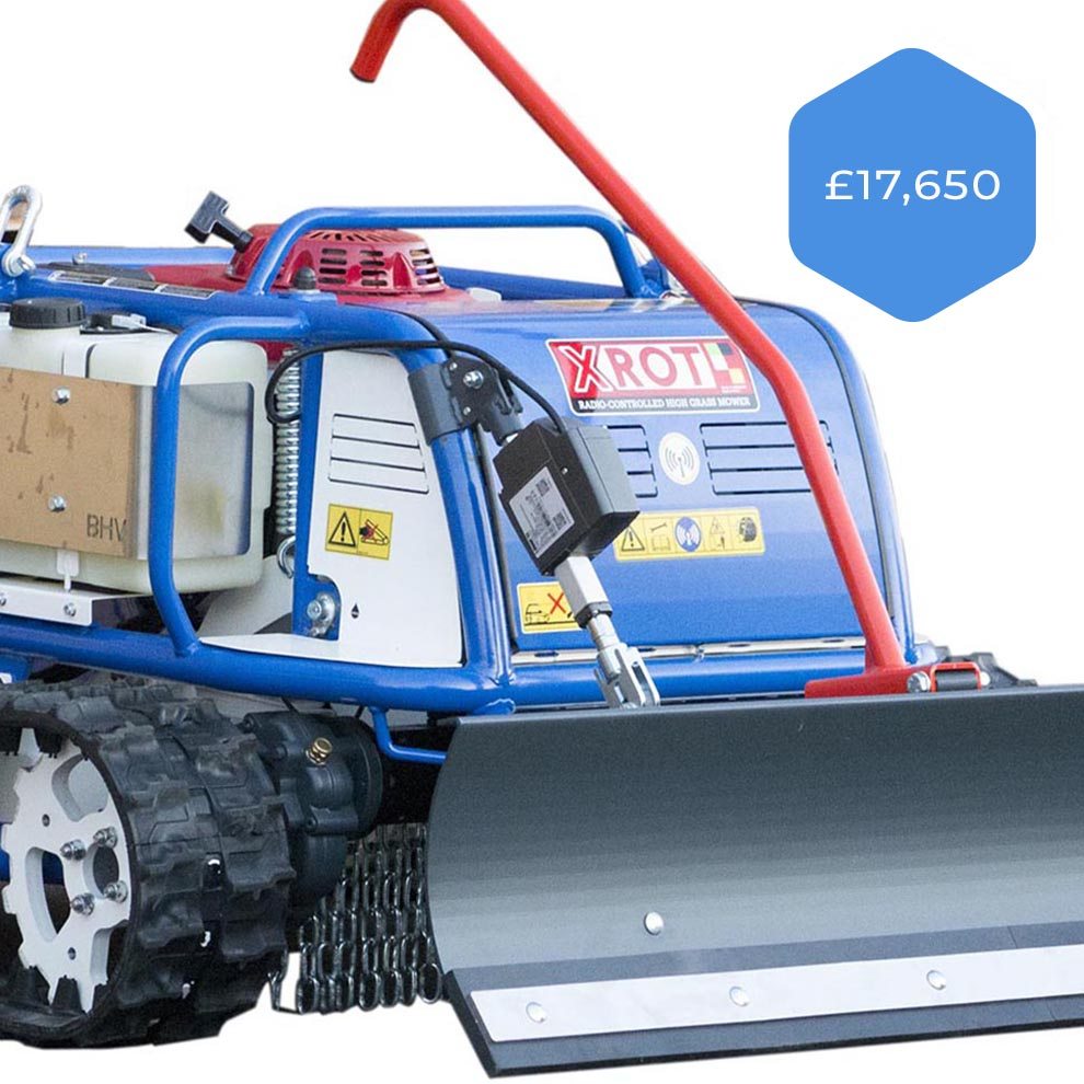X Rot Robotic Mower