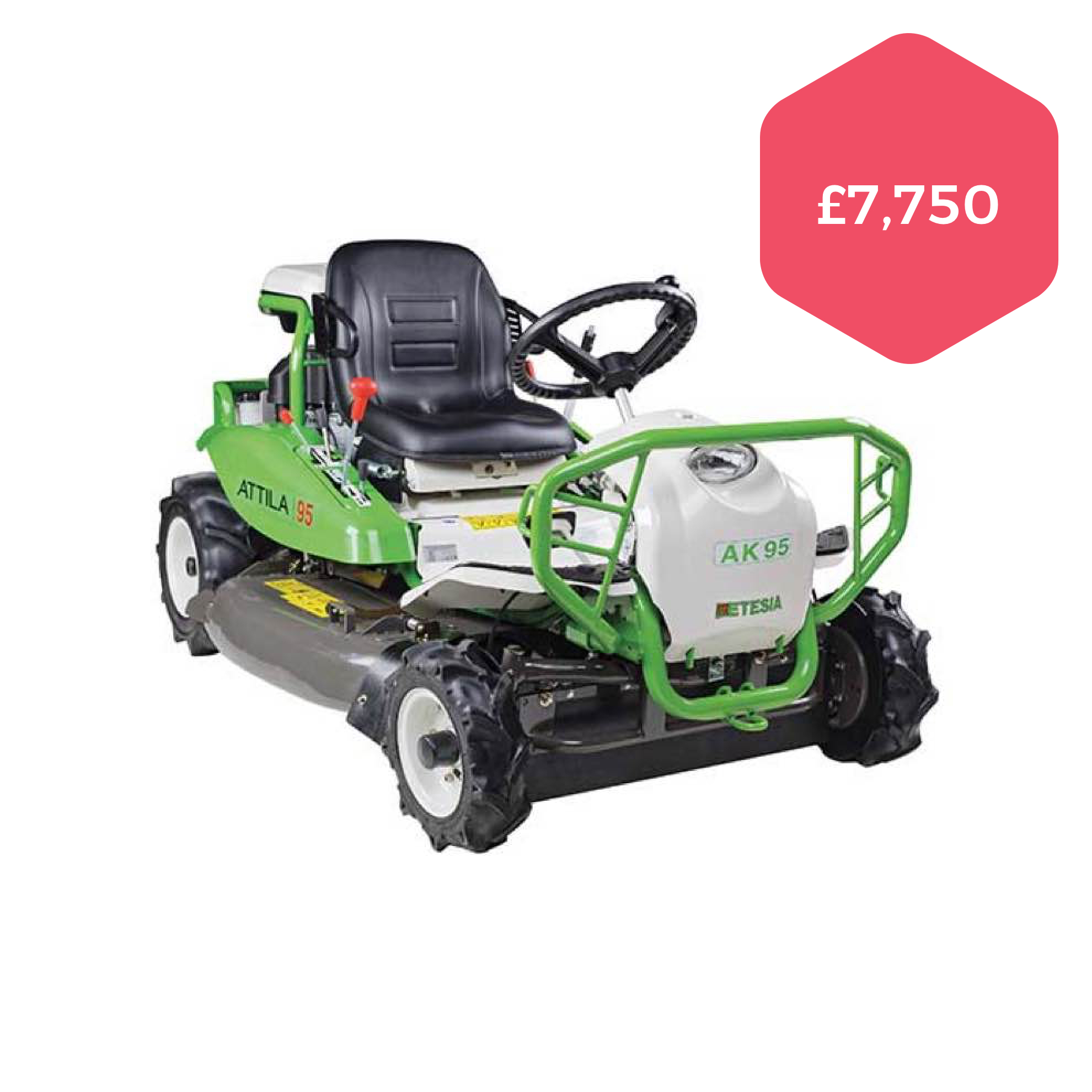 Etesia Attila AK95 Ride-on Mower