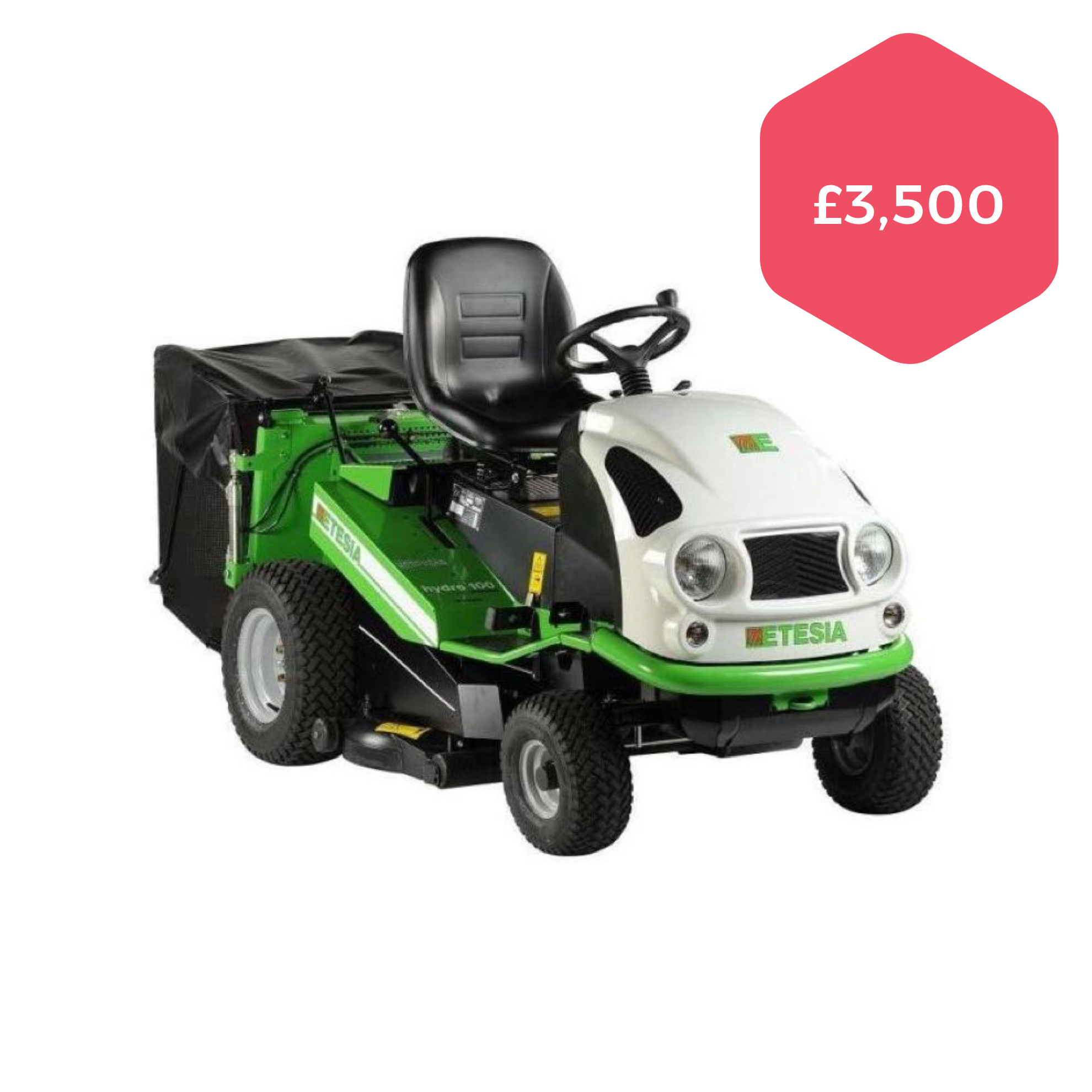 Used Etesia MVEHH Hydro 100 Anti-clog Cut and Collect