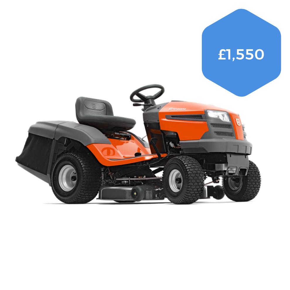 Husqvarna TC138 Direct Collect Ride-on Mower