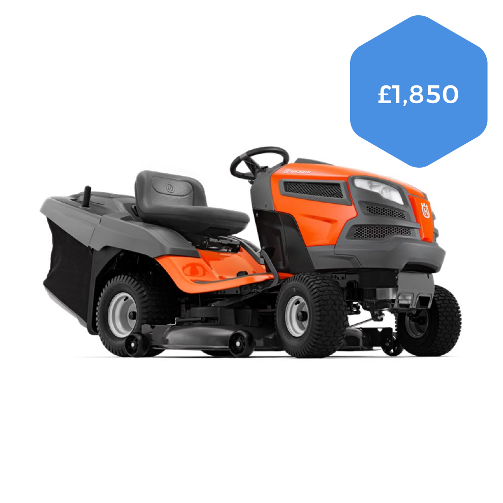 Husqvarna TC142 Direct Collect Ride-on Mower