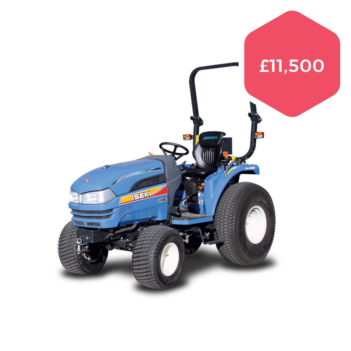 Used Iseki TH4365 HST Compact Tractor