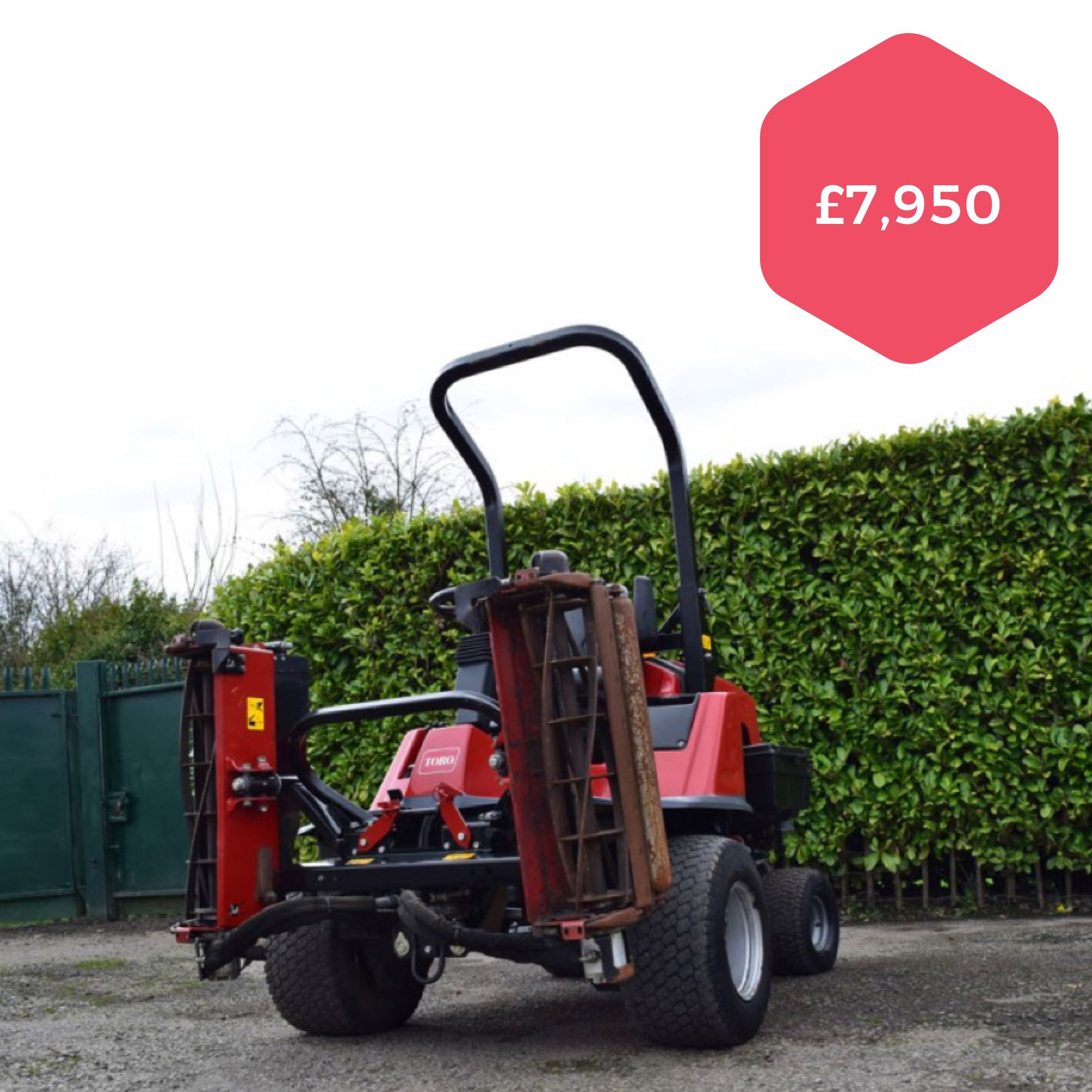 Toro LT3240 Triple Mower