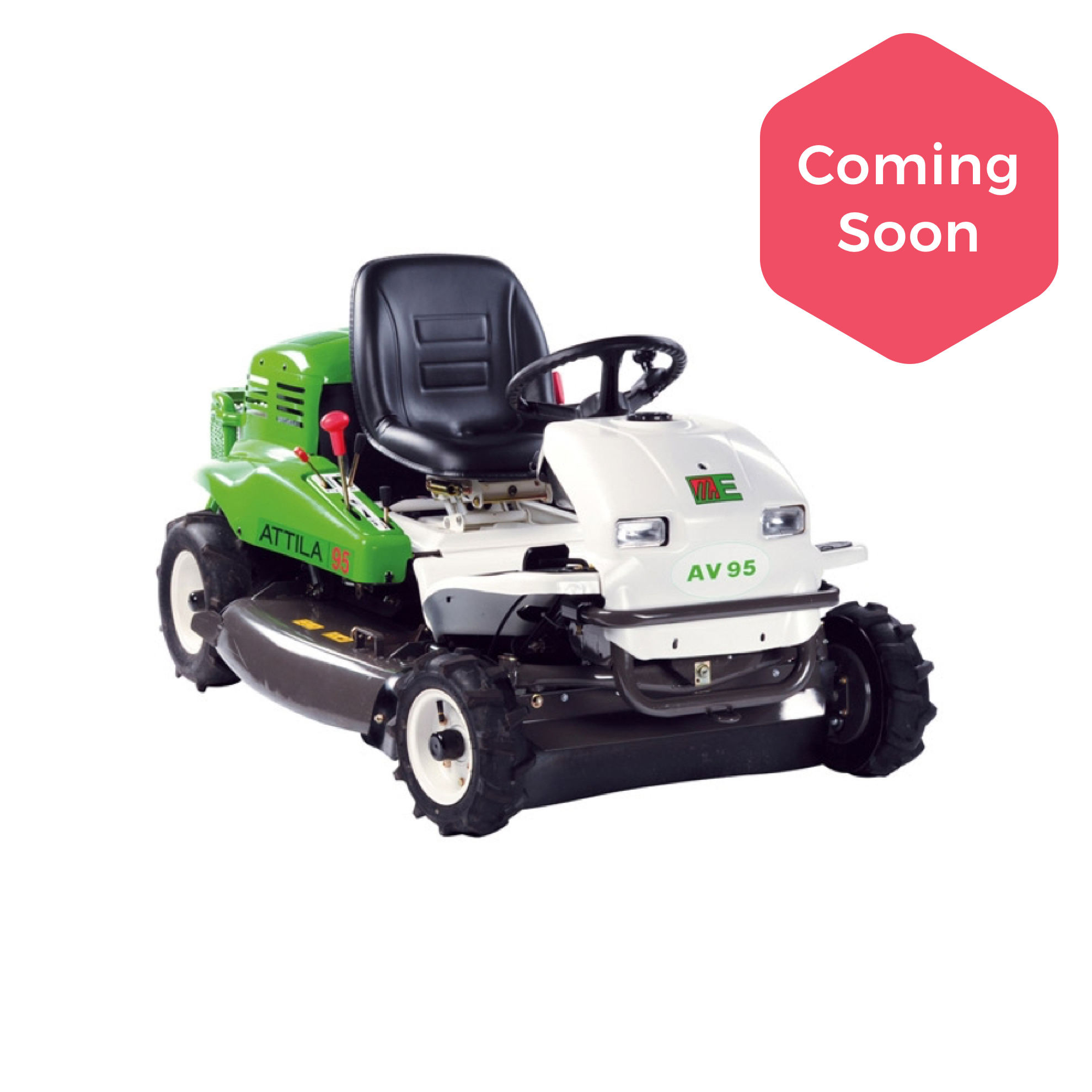 Etesia Attila AV95 Ride-on Brushcutter