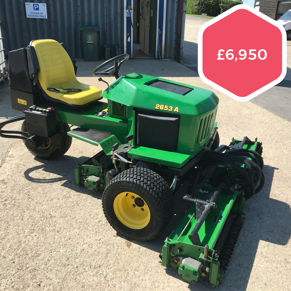 John Deere 2653A Triple Mower