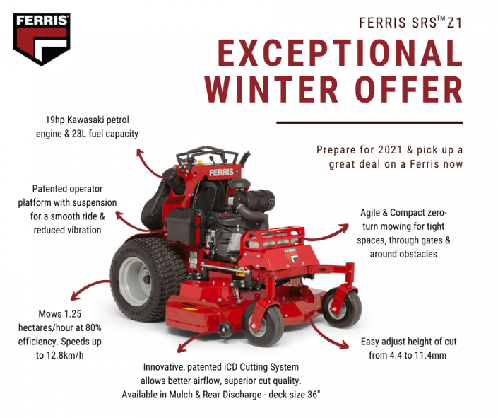 Ferris SRS Z1 Exceptional Winter Offer