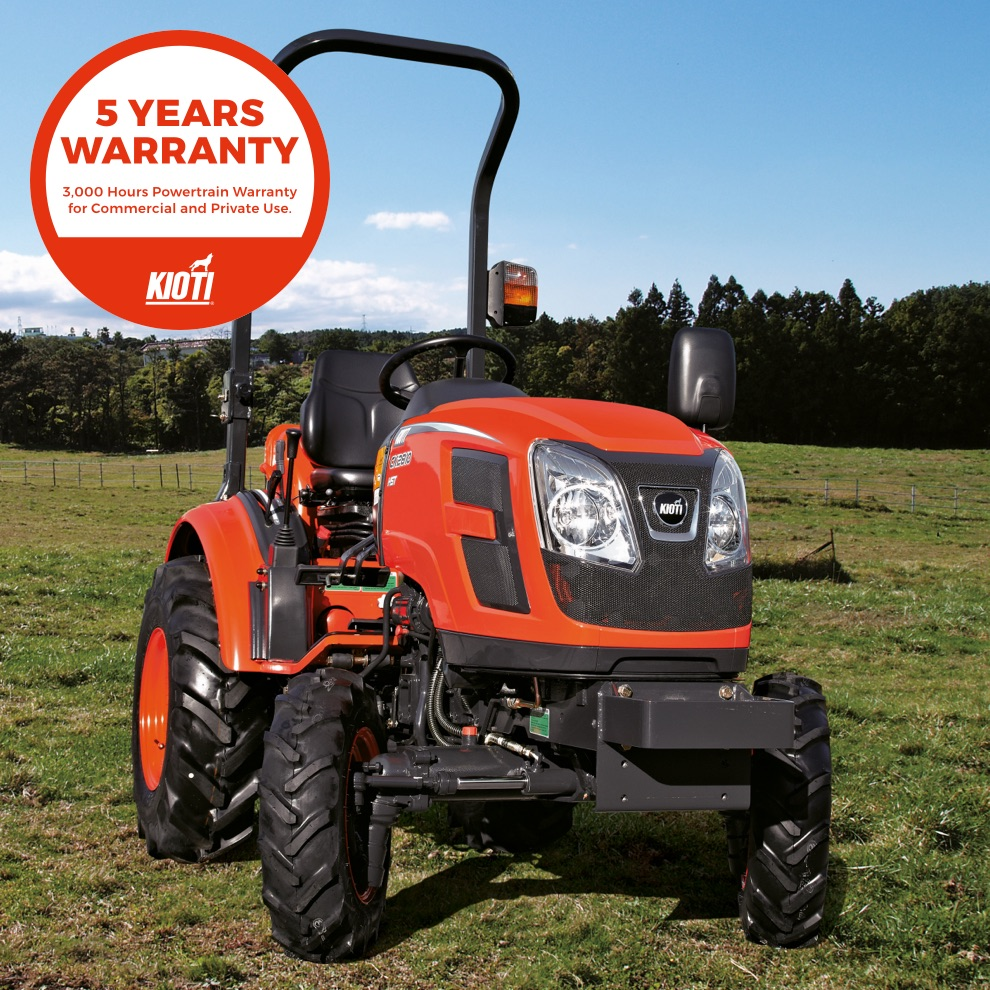 Kioti CK2810 Compact Tractor