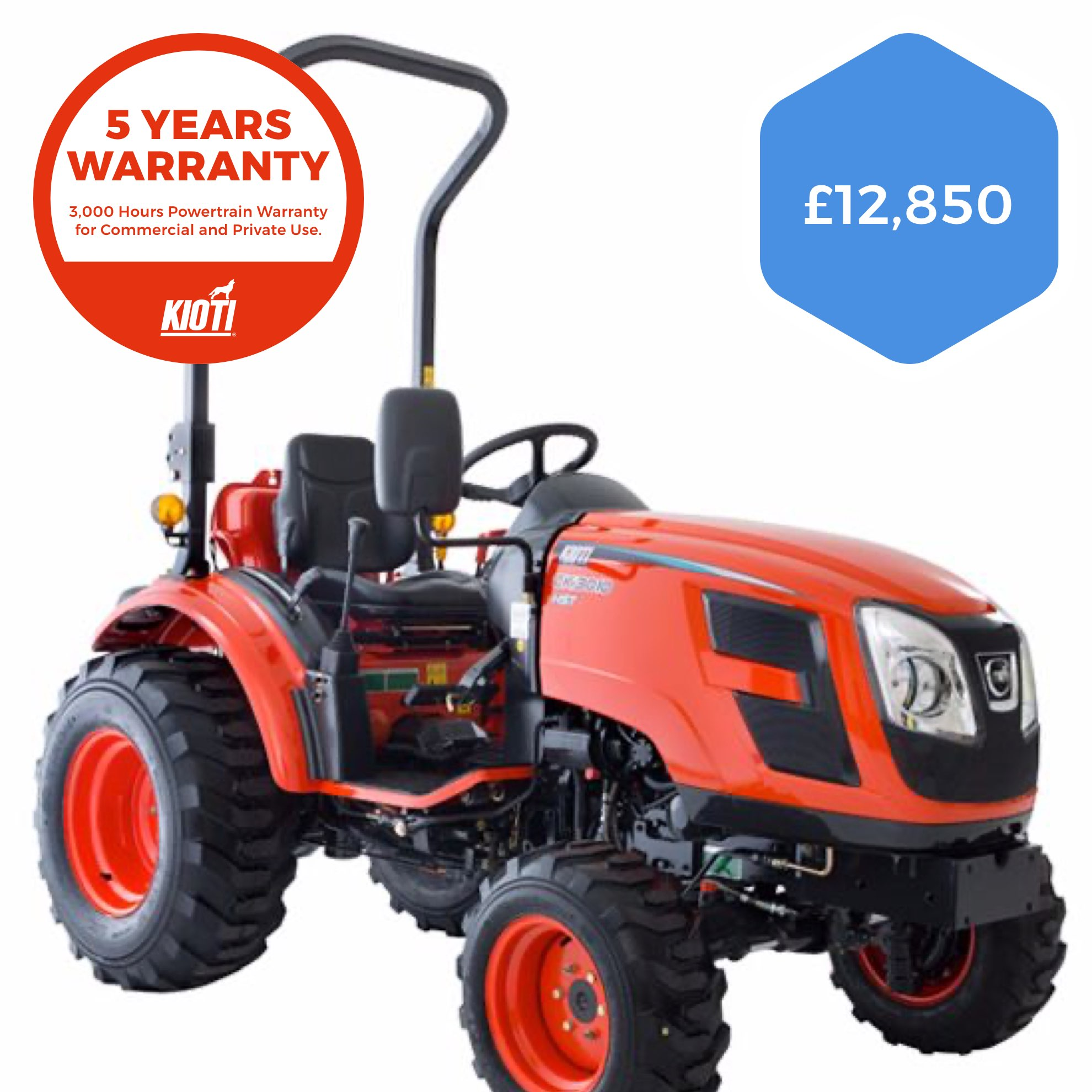 Kioti CK3310H Compact Tractor