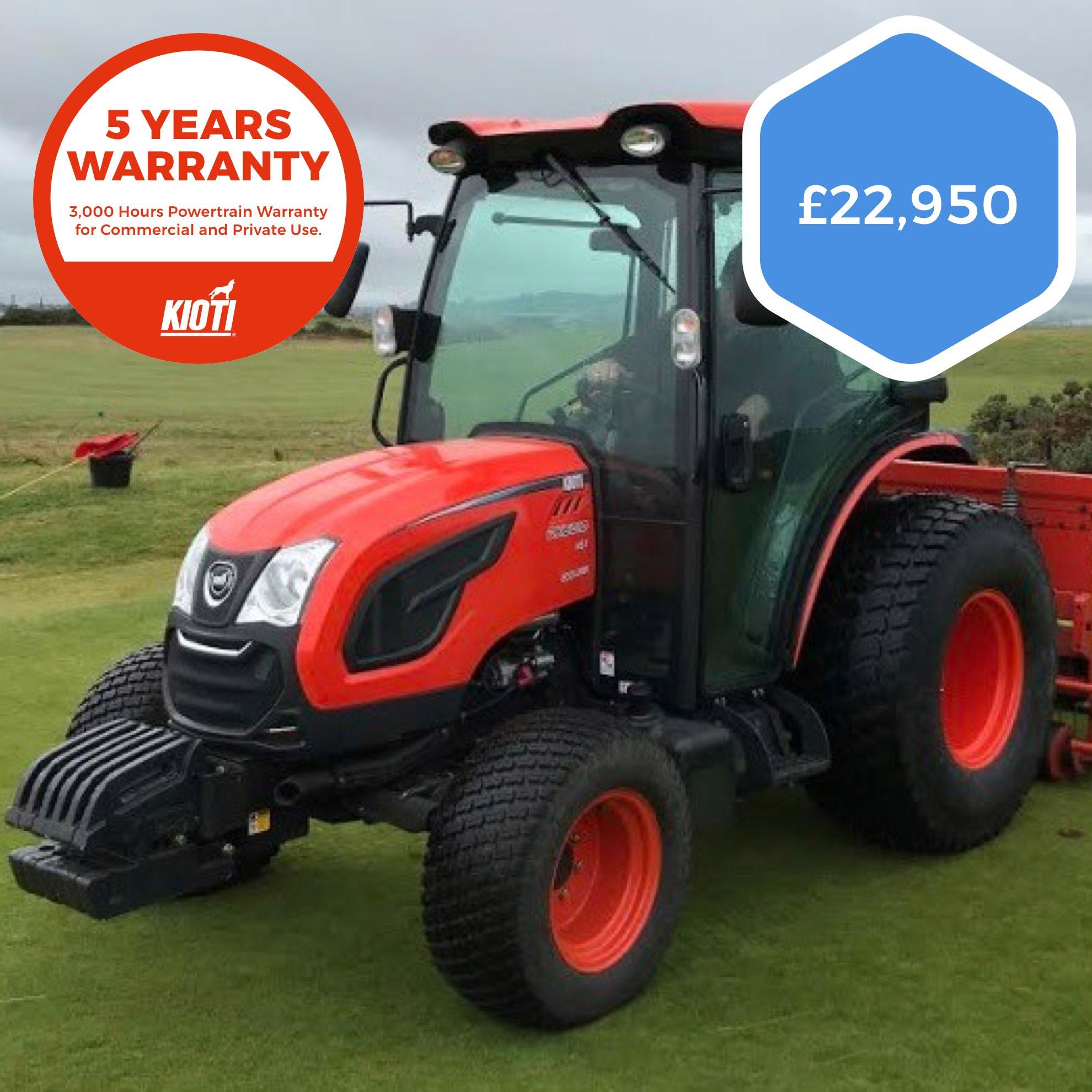 Kioti DK6010CH Agricultural Farm Tractor (Ex-Demo)