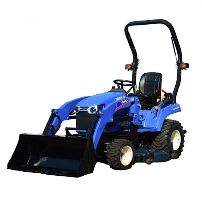 Iseki TXGS24 with Front Loader
