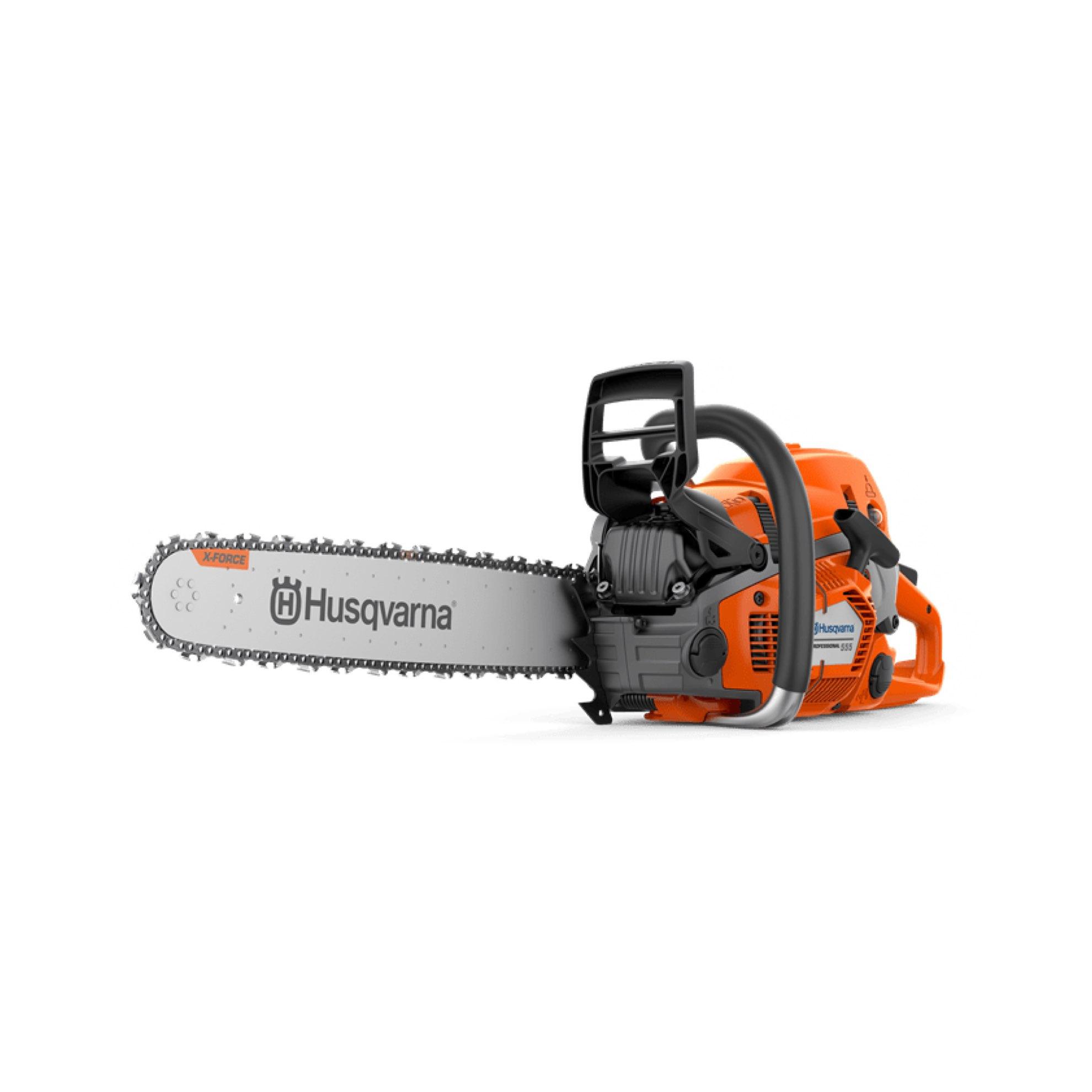 Husqvarna 555 Petrol-powered Chainsaw