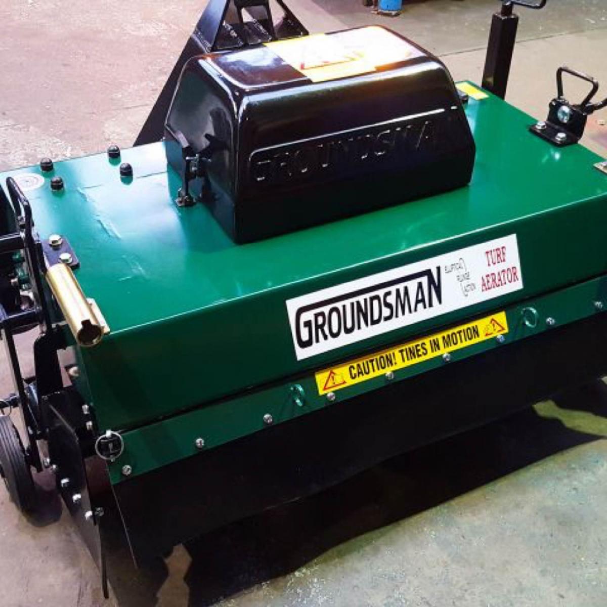 Groundsman 8120 Tractor-mounted Aerator