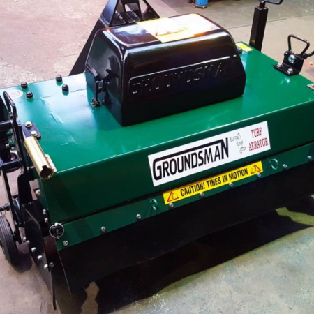 Groundsman 8120 Tractor-mounted Aerator