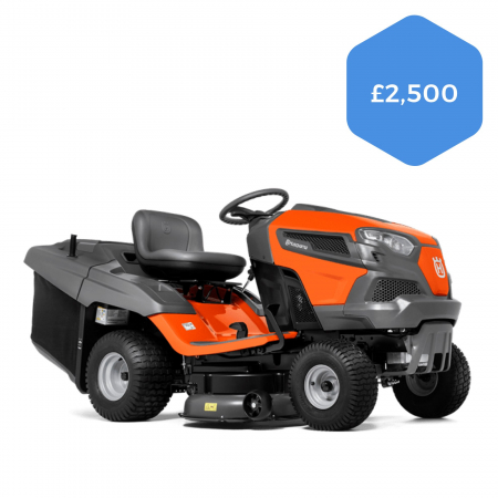 Husqvarna TC242T Direct Collect Ride-on Mower