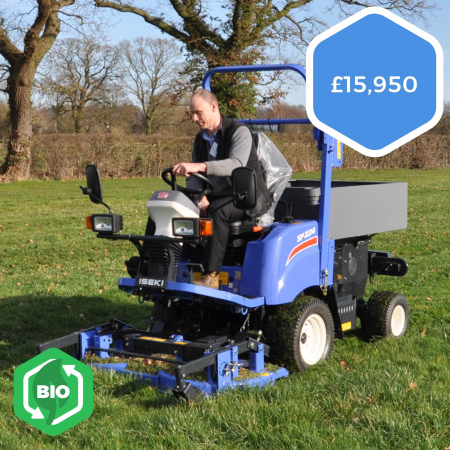 Iseki SF224 Ride-on Out-front Mower