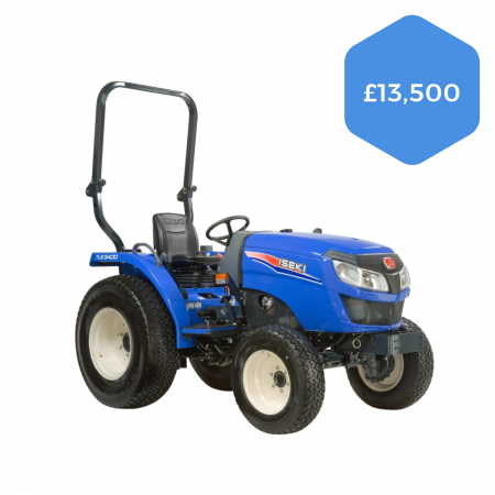 Iseki TLE3400 and TLE4490 Tractors