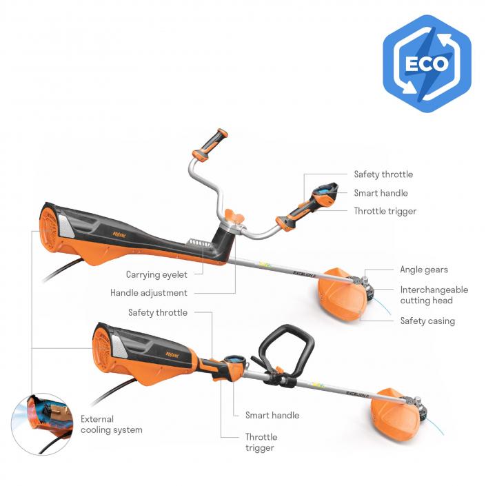 Pellenc Excelion 2 Battery-powered Brushcutter