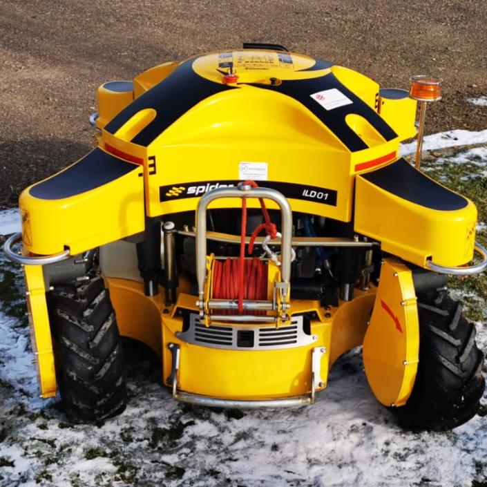 Spider ILD01 Robotic Slope Mower