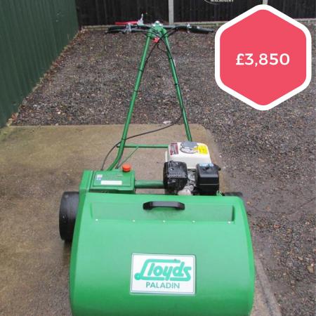 Used Lloyds Paladin Fine Turf Mower